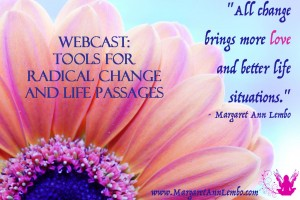 Tools for Radical Change and Life Passages - WEBCAST -Change Meme